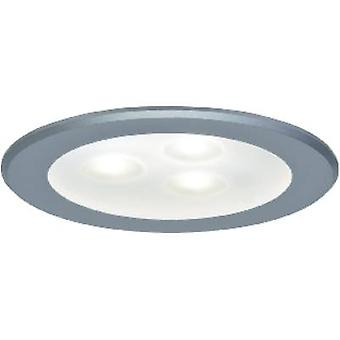 Paulmann power 93544 LED recessed light 3-piece set 9 W Warm white Chrome (matt)