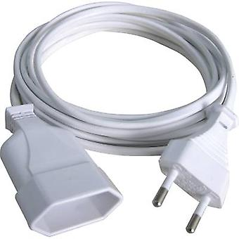 Current Cable extension White 2 m