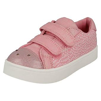 Girls Clarks Casual Canvas Shoes Pattie Lola