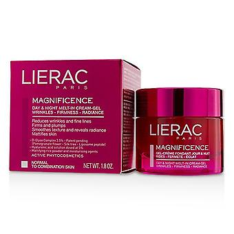 Lierac Magnificence Day & Night Melt-In Cream-Gel (For Normal To Combination Skin) 50ml/1.8oz