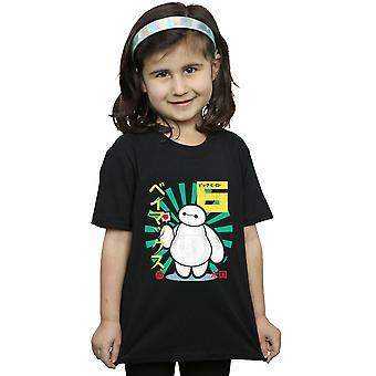 Disney filles grand héros 6 Baymax Lollypop T-Shirt