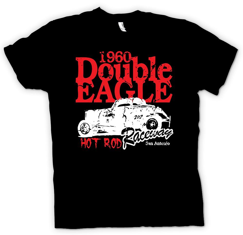 Womens T-shirt - Hot Rod 1960 Double Eagle Racing