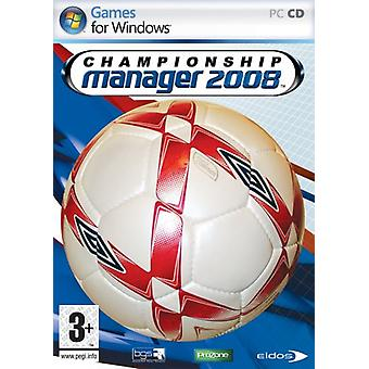 Championship Manager 08 (PC CD)