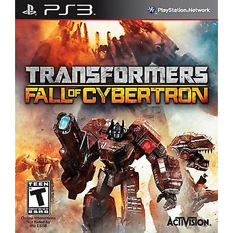 Transformers Fall of Cybertron (PS3) - Factory Sealed
