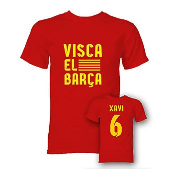 Xavi Visca El Barca helten T-Shirt (rød)