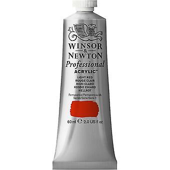Winsor & Newton Professional Acrylic 60ml - 362 Light Red (S1)