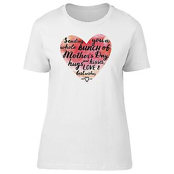 Mothers Day Watercolor Love Tee Women's -Image by Shutterstock