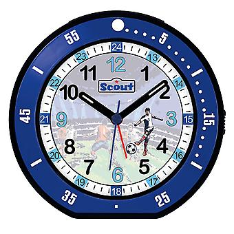 Scout children alarm clock alarm young minute blue 280001004