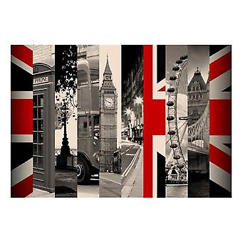 Wellindal Wallpaper Symbole von London (Dekoration , Wandtattoos)