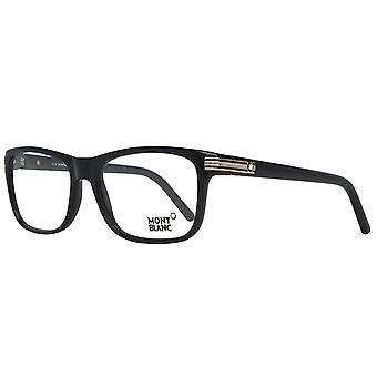 MONTBLANC mens black glasses