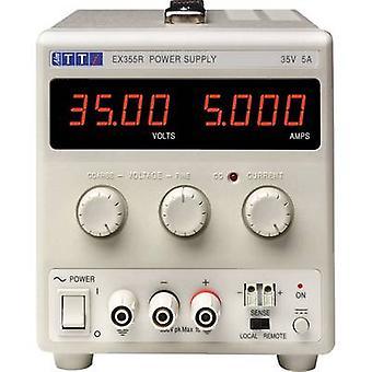 Ziel ist TTi EX355R Bank PSU (Einstellbare Spannung) 0 - 35 Vdc 0 - 5 A 175 W-Nr. Ausgänge 1 X