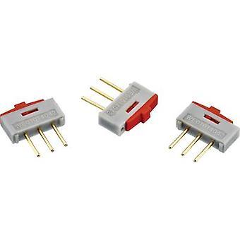 Slide switch 1 x On/On Würth Elektronik 450301014042 1 pc(s)