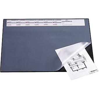 Durable 7204 Desk pad Black (W x H) 650 mm x 520 mm