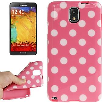Skyddande fodral för mobil Samsung Galaxy touch 3 N9000 rosa