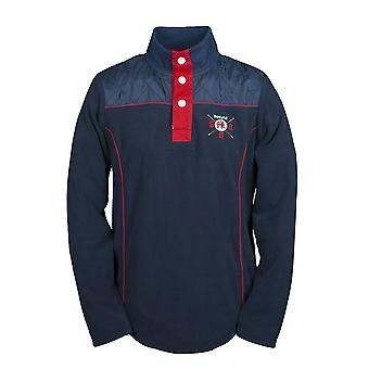 GBR-Barcelona Fleece-Sweatshirt Navy