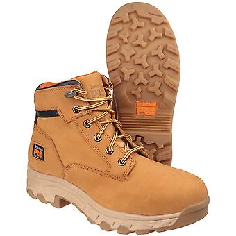 Timberland Mens Workstead Lace Up Leather Work Safety Boot