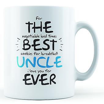 For The Best Uncle Ever - Printed Mug