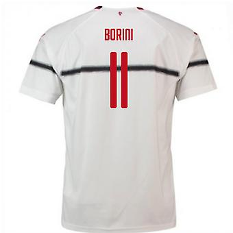 2018-2019 AC Milaan Puma Away Football Shirt (Borini 11)