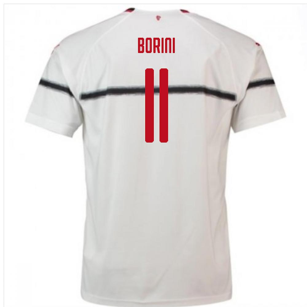 2018-2019 AC Milan Puma Away Football Shirt (Borini 11)