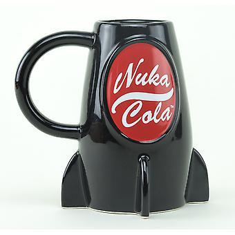 Fallout Nuka Cola bottiglia 3D Mug