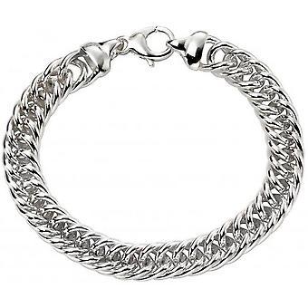 Beginnings Heavy Weight Close Curb Bracelet - Silver