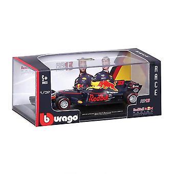 Burago Red Bull RB13 Formule 1 Auto Max Verstappen en Daniel Ricciardo 1:32