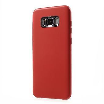 custodia flessibile per Samsung S8-rosso
