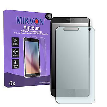Alcatel Pop 4 Screen Protector - Mikvon AntiSun (Retail Package with accessories)