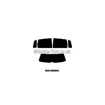 Pre Cut Fenster Farbton - VW Polo 5-Türer - 2005 bis 2009 (Facelift) - hinten-windows