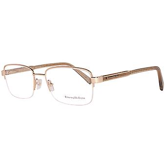 Zegna glasses men's Gold