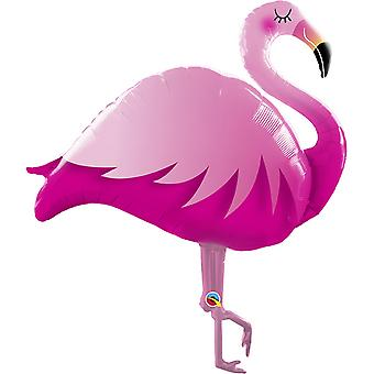 Qualatex 46 Inch Flamingo Shaped Foil Balloon