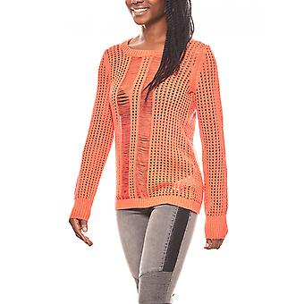 CORLEY women's Chunky knit sweater Red