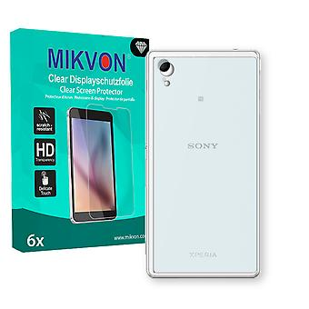 Sony Xperia M4 Aqua Dual reverse Screen Protector - Mikvon Clear (Retail-Paket mit Zubehör)