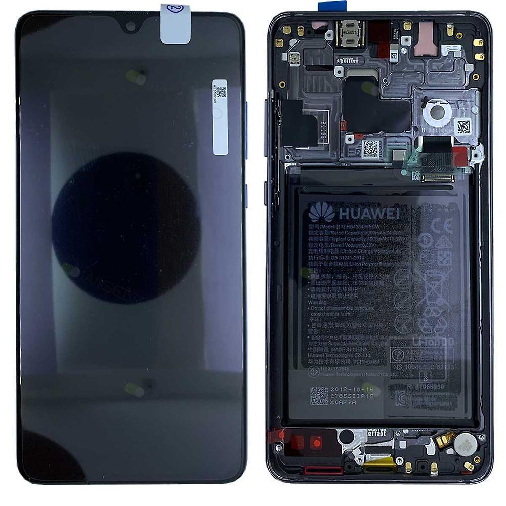 Huawei Display LCD Einheit + Rahmen für Mate 20 Service Pack 02352ETG noir Neu