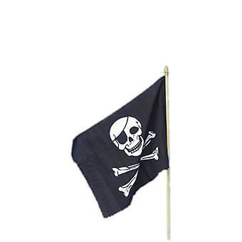 Пиратский флаг, 45x30cm.