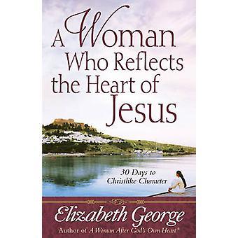 Eine Frau, die das Herz Jesu - 30 Tage, um christliche Merk reflektiert