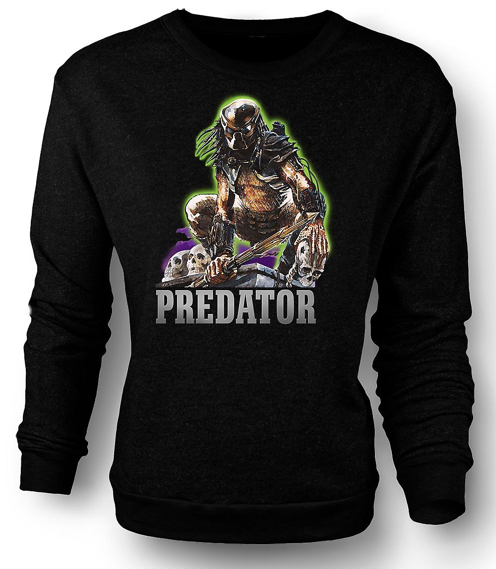 Mens Sweatshirt Predator Hunter - Filmklassiker