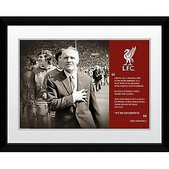 Liverpool Picture Shankly  16 x 12