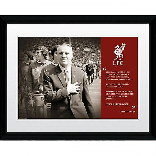 Liverpool foto Shankly 16 x 12