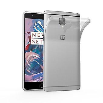 Caso de Cadorabo para OnePlus 3 / capa de silicone - silicone TPU caso móvel no design ultra slim 'ar' - 3T capa caso amortecedor tampa traseira macia