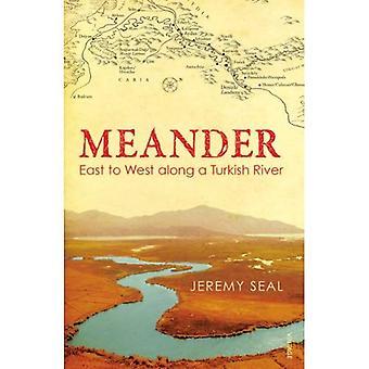 Meandro: Este a oeste a lo largo de un río de Turco