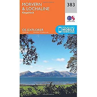 OS Explorer Map (383) Morvern and Lochaline