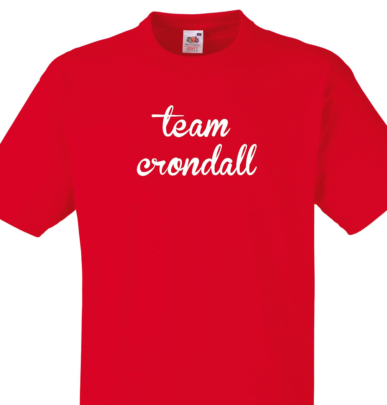 Team Crondall Red T shirt