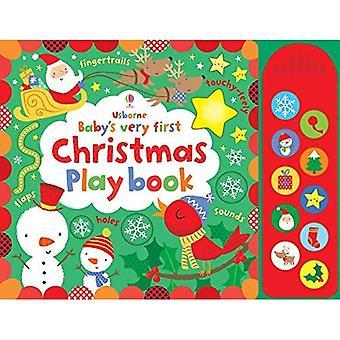 Do bebê primeiro Natal sensível jogar livro (do bebê primeiros livros)