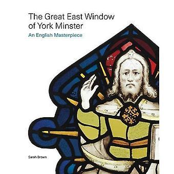 De grote Oost-venster van York Minster