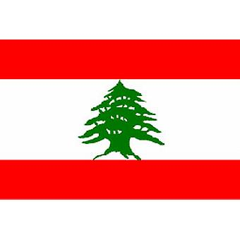 Lebanon Flag 5ft x 3ft