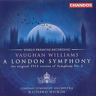 R. Vaughan Williams - Vaughan Williams: A London Symphony [CD] USA import