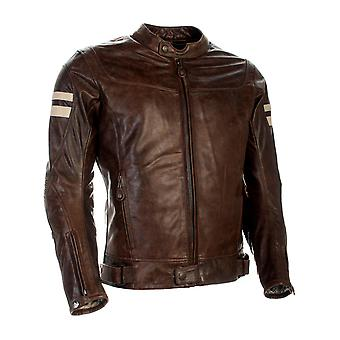 Richa Cognac Hawker Motorcycle Leather Jacket