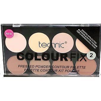 Technic Colour Fix 2 Pressed Powder Contour Palette