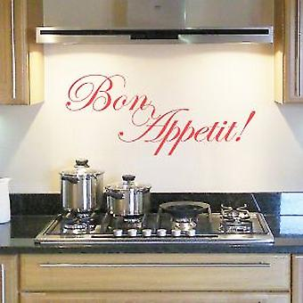 BON APPETIT WALL QUOTE - Large